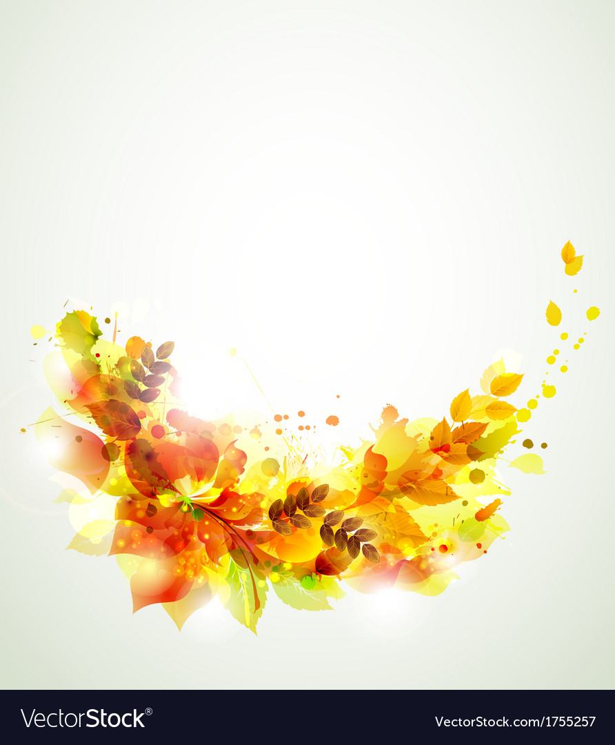 Autumn branch vector | Price: 1 Credit (USD $1)