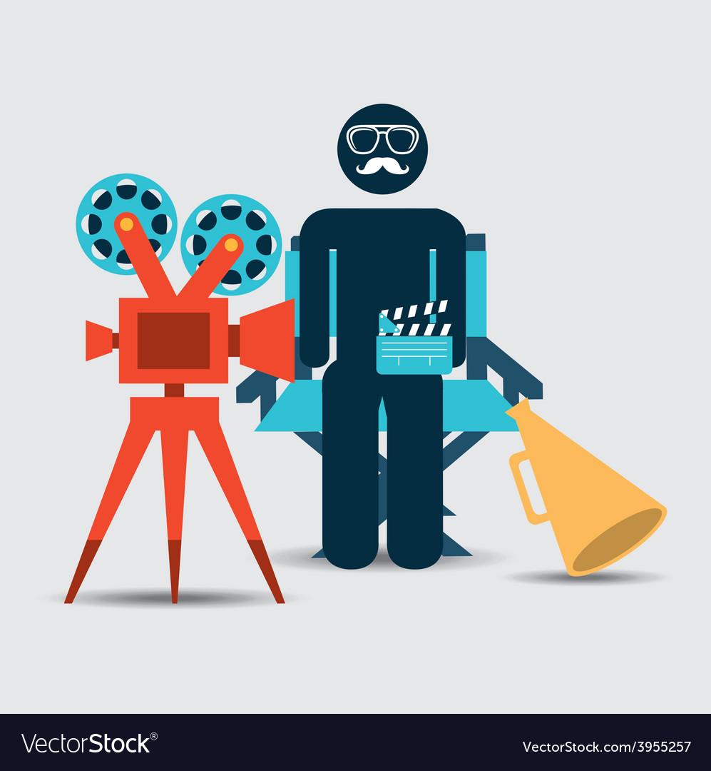 Cinema concept vector | Price: 1 Credit (USD $1)