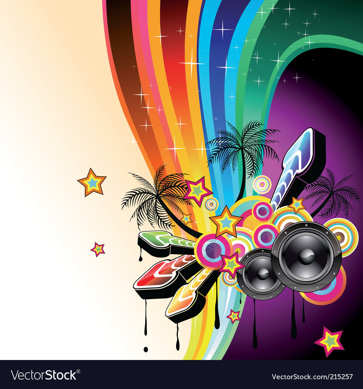 Dj dance poster vector   Price: 3 Credit (USD $3)