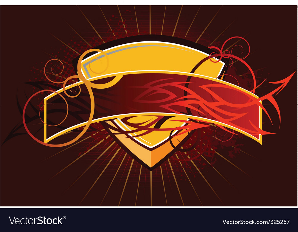 Heraldry shield vector   Price: 1 Credit (USD $1)
