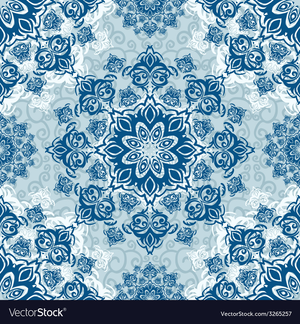 Seamless christmas cute snowflake pattern vector   Price: 1 Credit (USD $1)