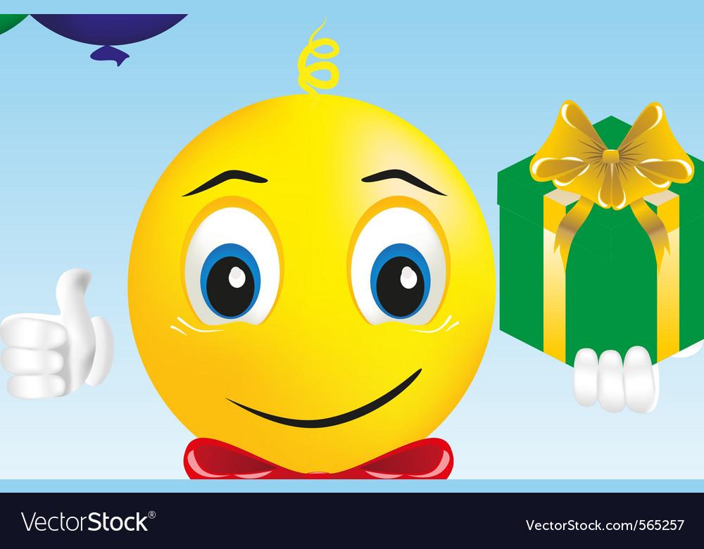 Smiley boy vector | Price: 1 Credit (USD $1)