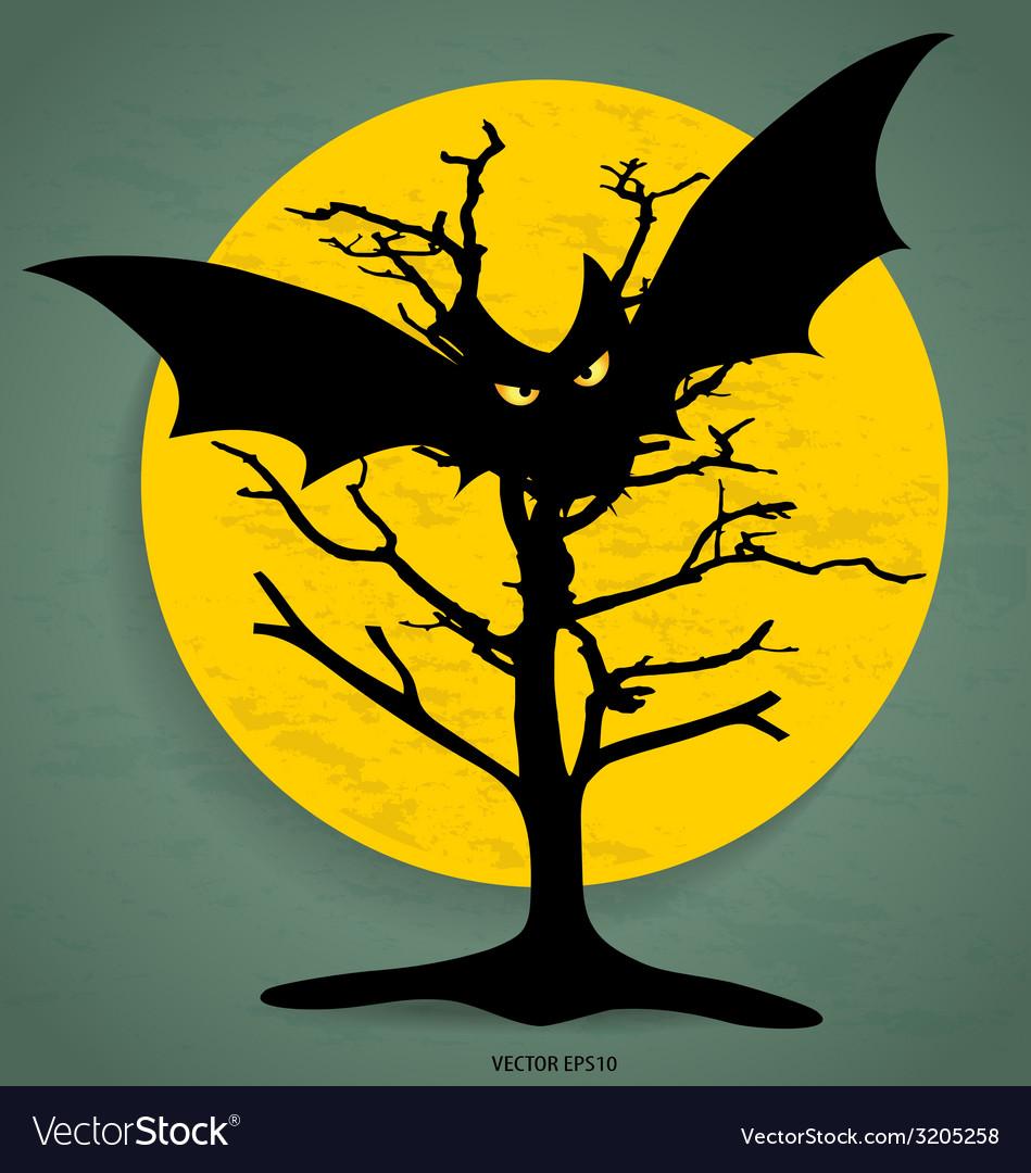 Happy halloween design background vector   Price: 1 Credit (USD $1)