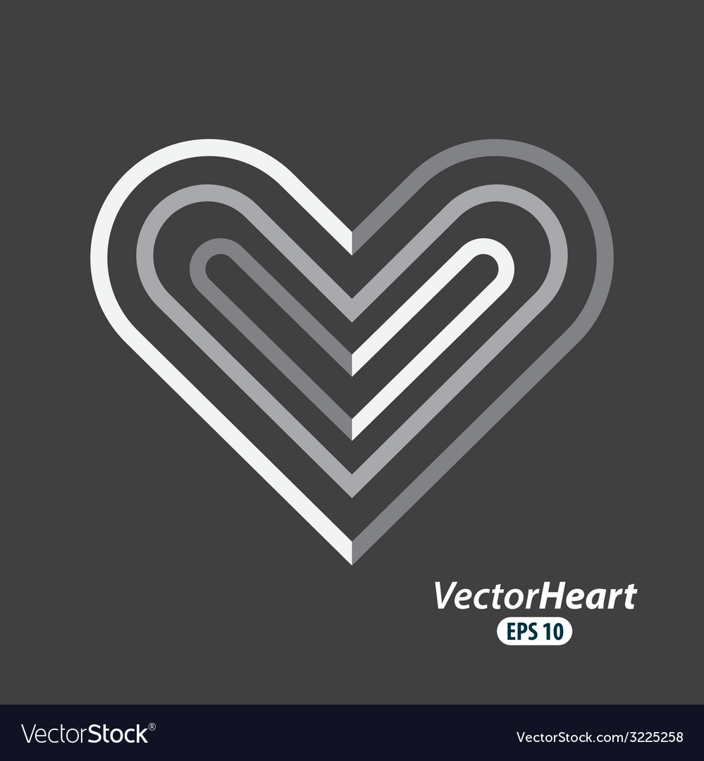 Heart love design vector | Price: 1 Credit (USD $1)