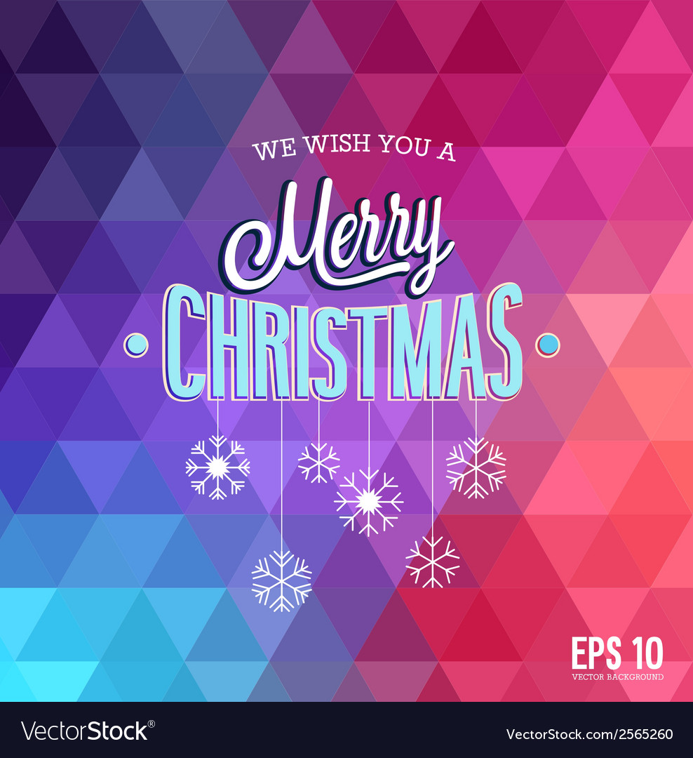 Hipster blur christmas vector | Price: 1 Credit (USD $1)
