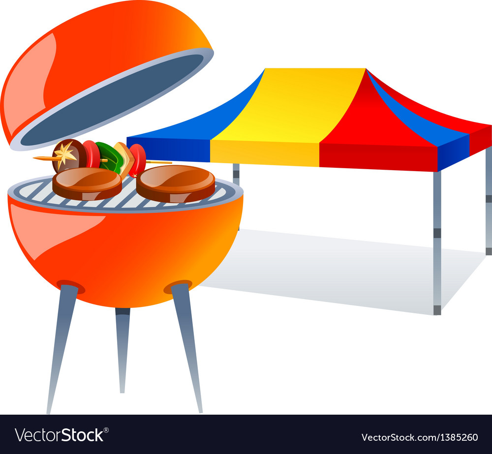 Icon barbecue vector | Price: 1 Credit (USD $1)