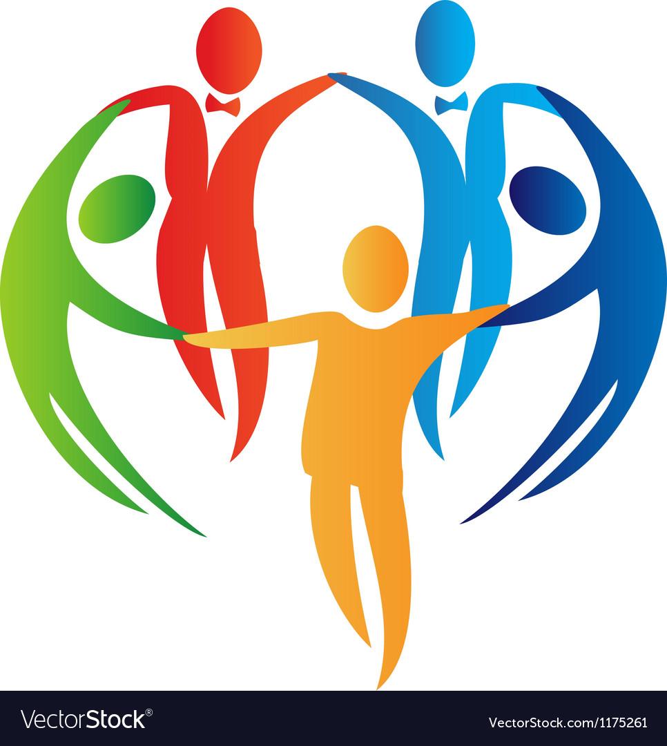 Diversity teamwork logo vector   Price: 1 Credit (USD $1)