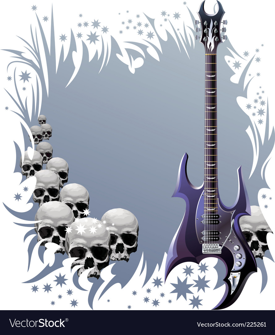 Heavy rock style background vector   Price: 3 Credit (USD $3)