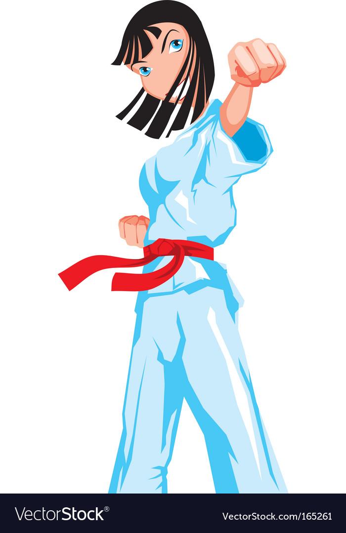 Martial arts vector | Price: 1 Credit (USD $1)