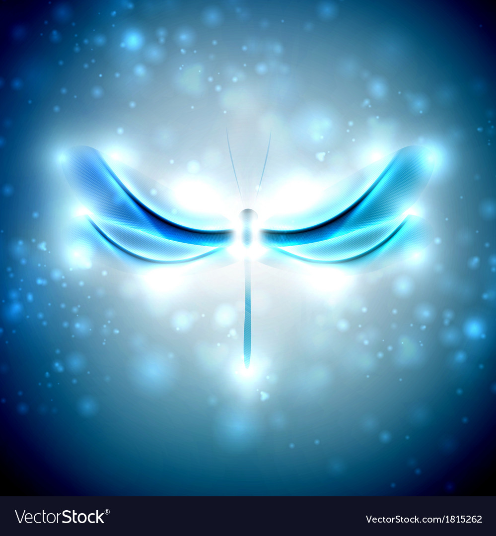 Abstract dragonfly vector | Price: 1 Credit (USD $1)