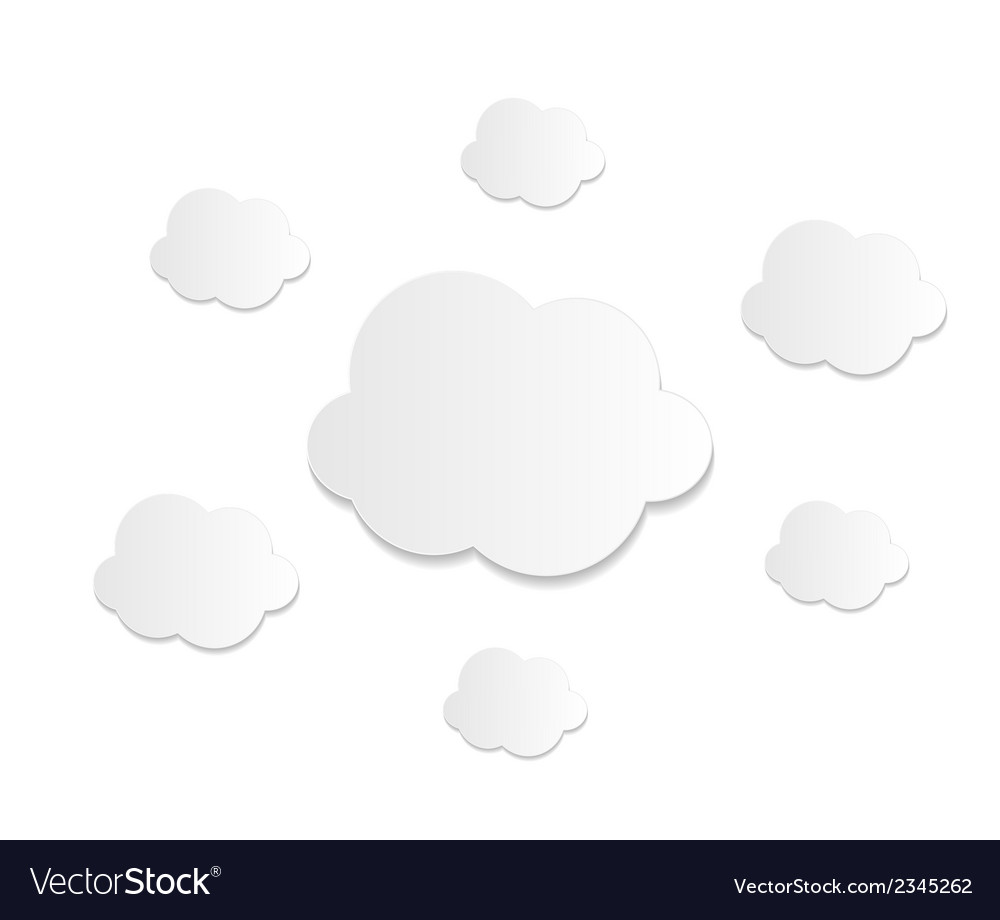 Cloud computing business concept vector | Price: 1 Credit (USD $1)