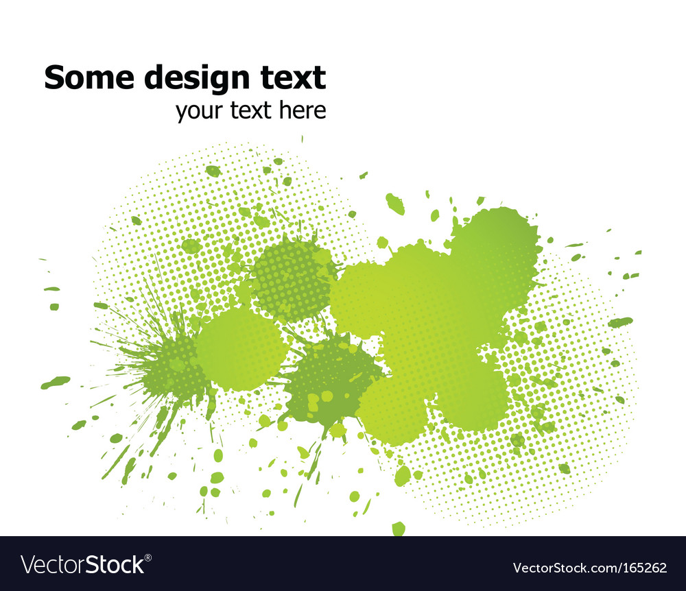 Paint splash background vector | Price: 1 Credit (USD $1)