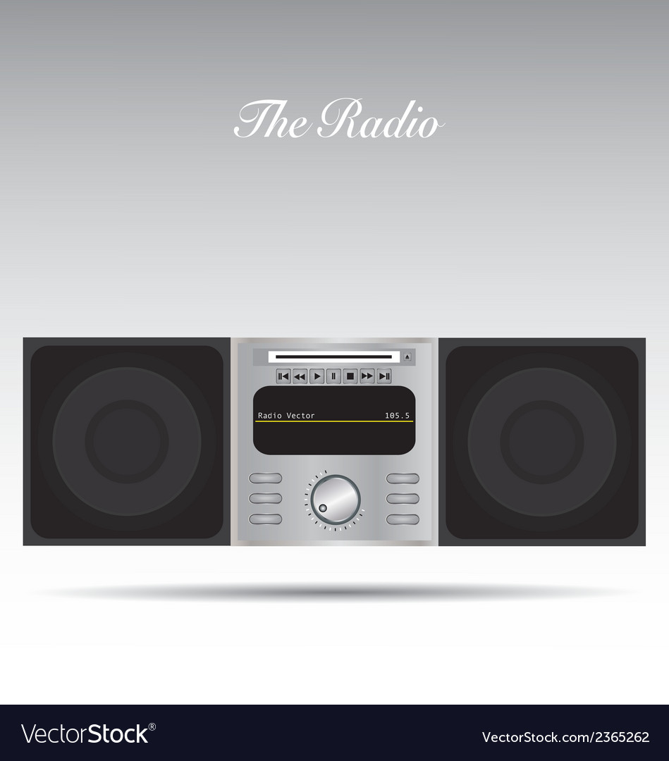 The radio vector | Price: 1 Credit (USD $1)