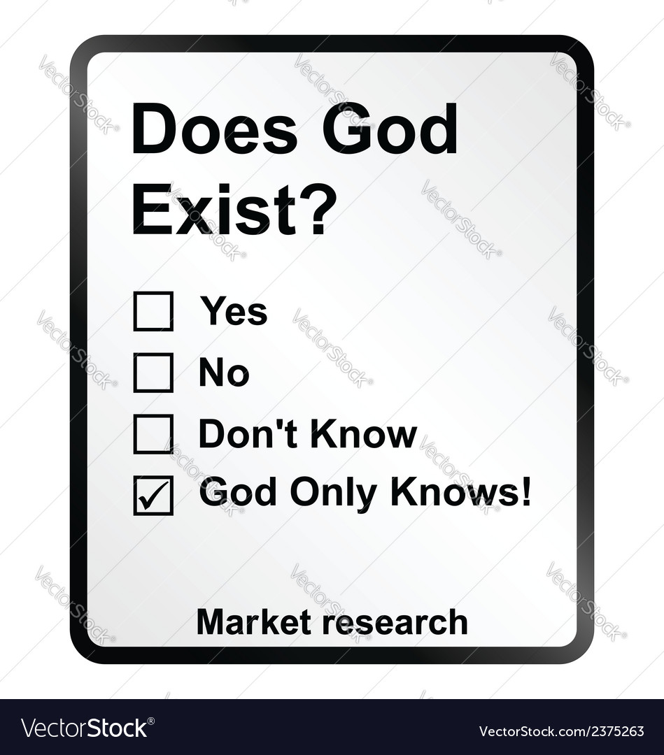 Market research god sign vector | Price: 1 Credit (USD $1)