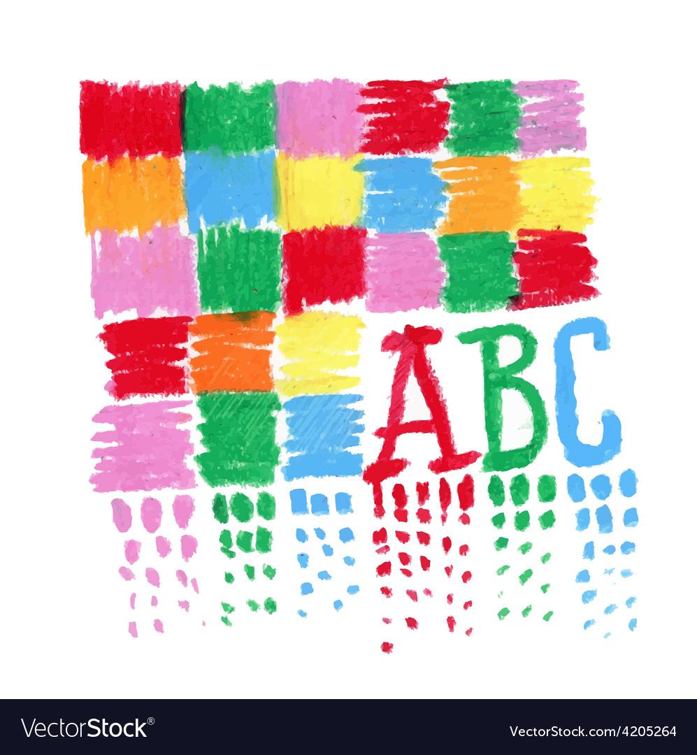 Child like artwork vector | Price: 1 Credit (USD $1)