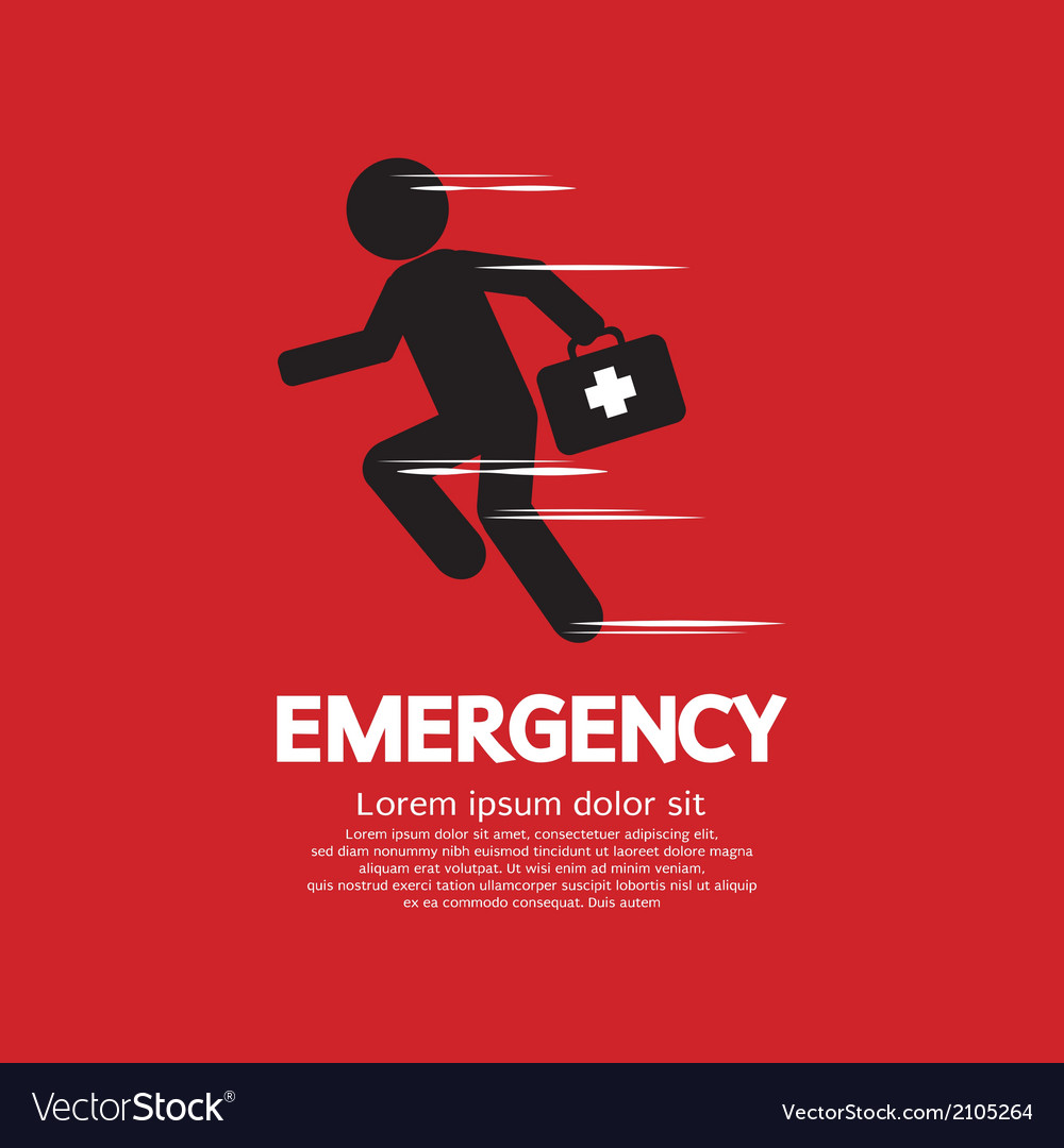 Emergency concept vector | Price: 1 Credit (USD $1)
