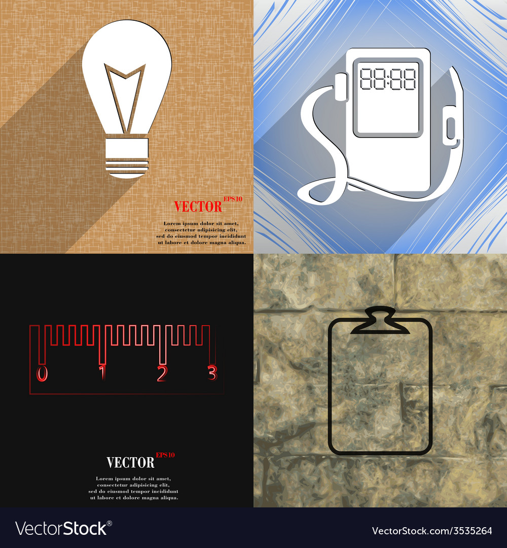 Set of abstract backgrounds with different web vector | Price: 1 Credit (USD $1)