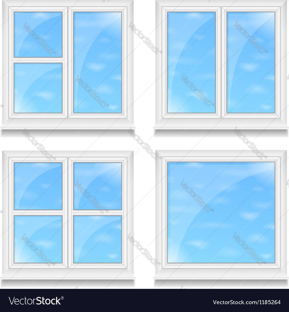 Windows vector | Price: 1 Credit (USD $1)