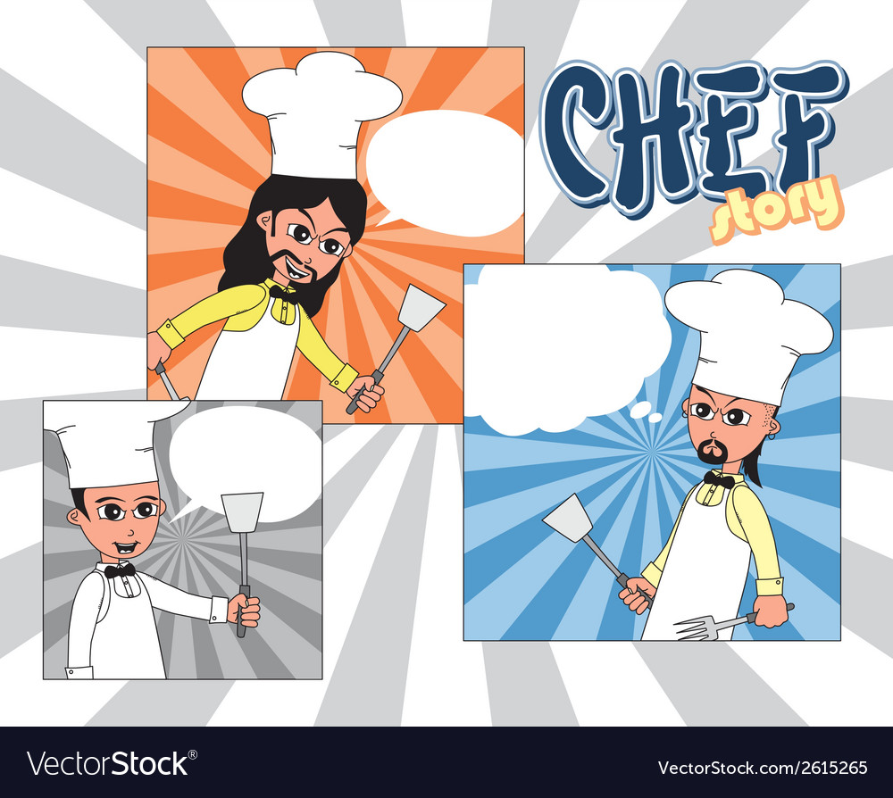 Hipster chef design vector | Price: 1 Credit (USD $1)