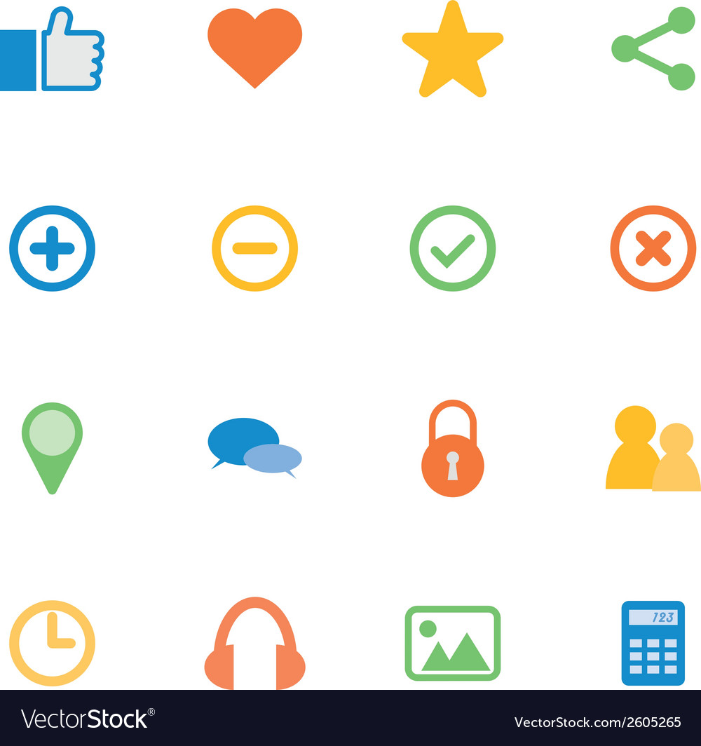Icon mobile application vector | Price: 1 Credit (USD $1)