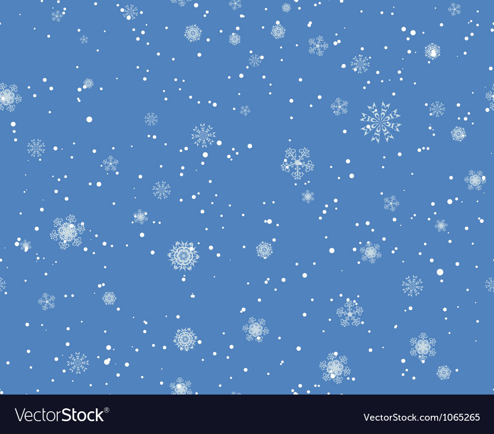 Seamless blizzard pattern vector | Price: 1 Credit (USD $1)