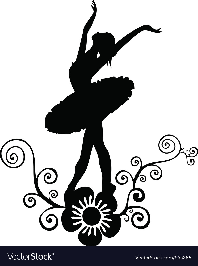 Ballet abstract design vector | Price: 1 Credit (USD $1)