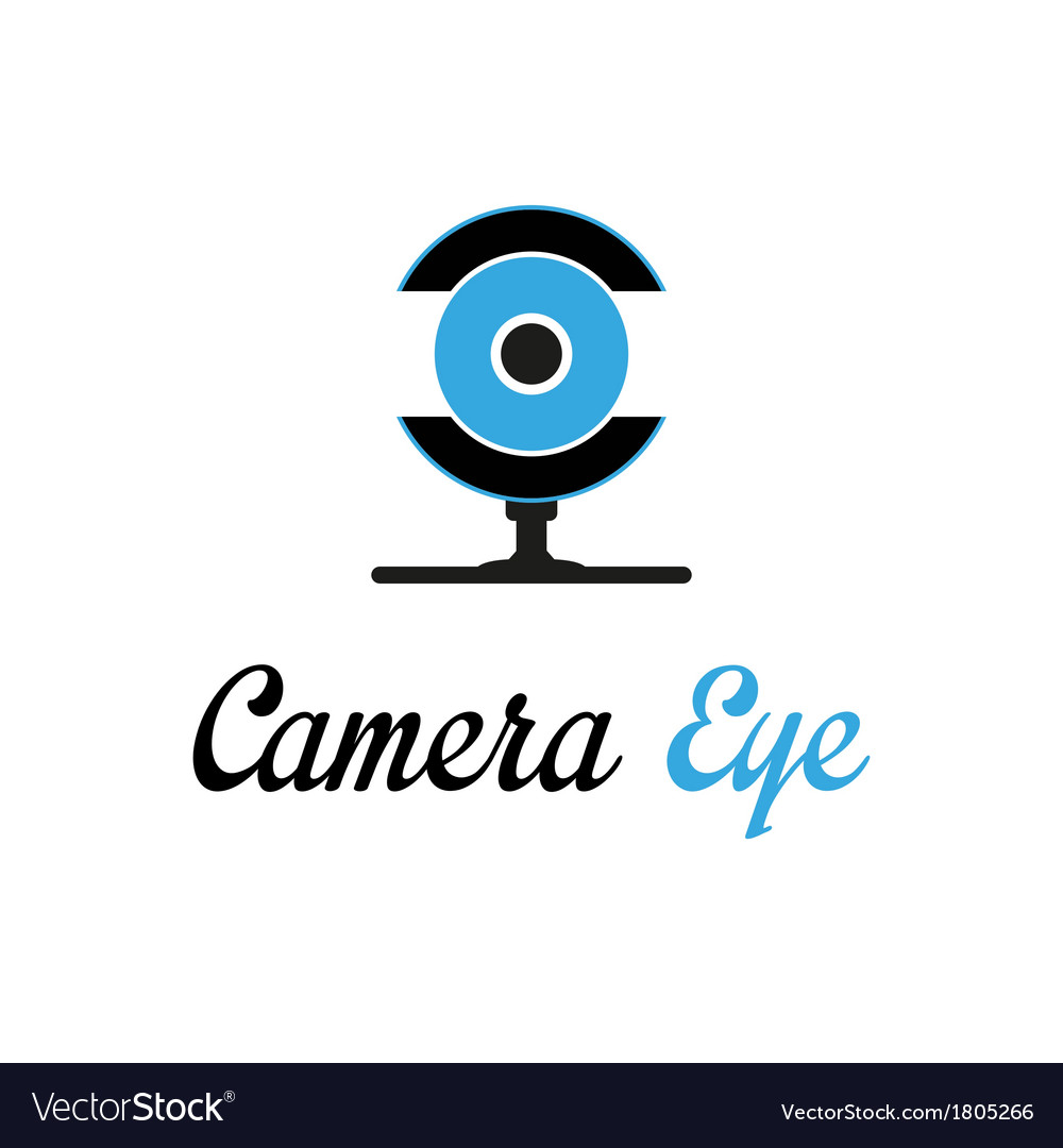 Camera eye vector | Price: 1 Credit (USD $1)