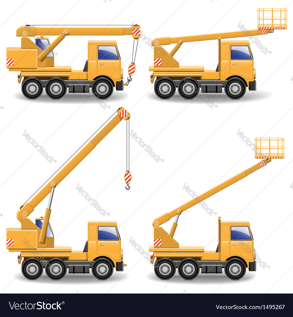 Construction machines vector | Price: 3 Credit (USD $3)