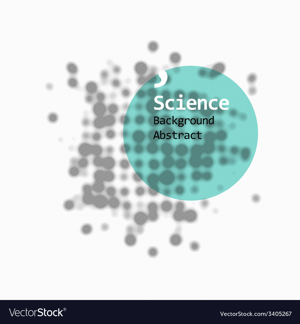 Science abstract background vector | Price: 1 Credit (USD $1)