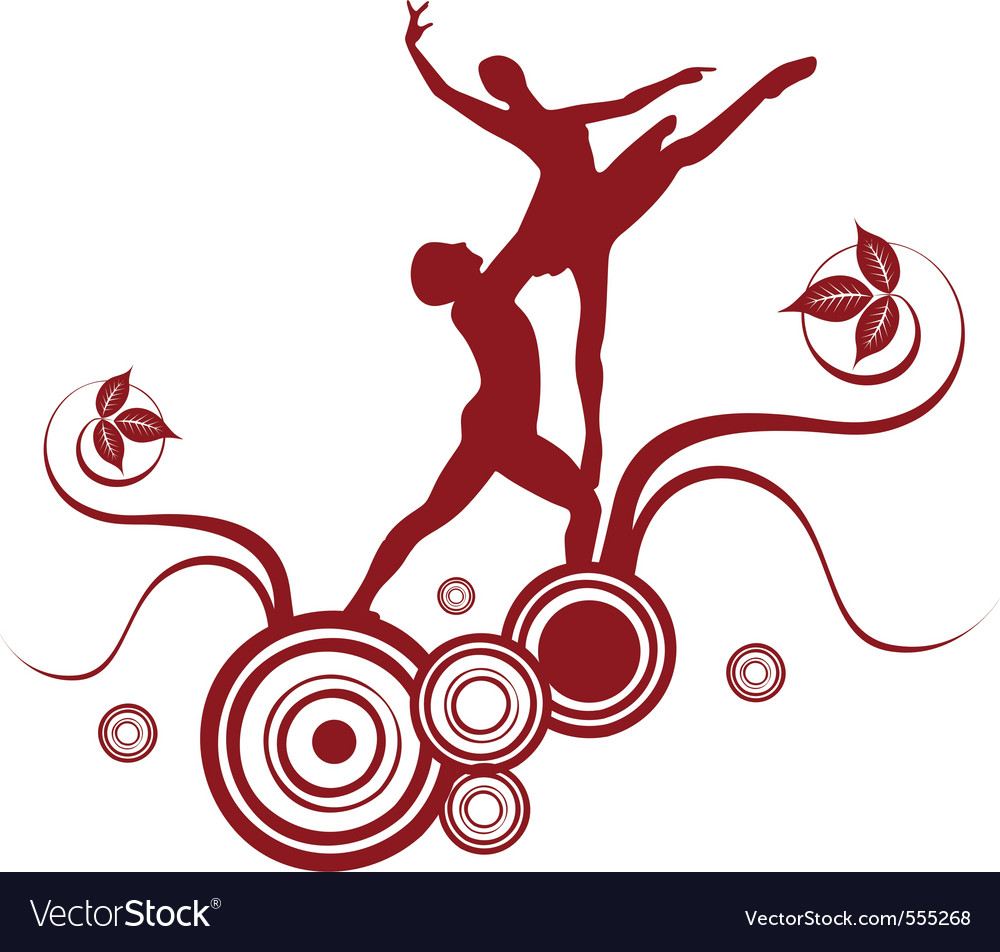 Ballet abstract design 2 vector | Price: 1 Credit (USD $1)