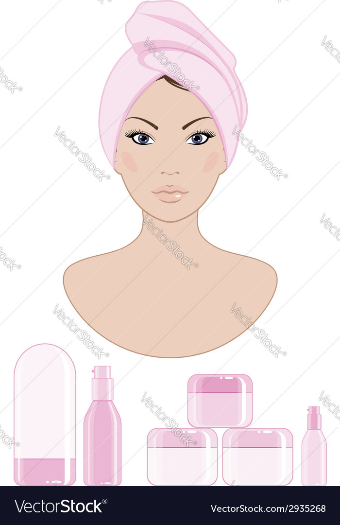 Cosmetics vector | Price: 1 Credit (USD $1)