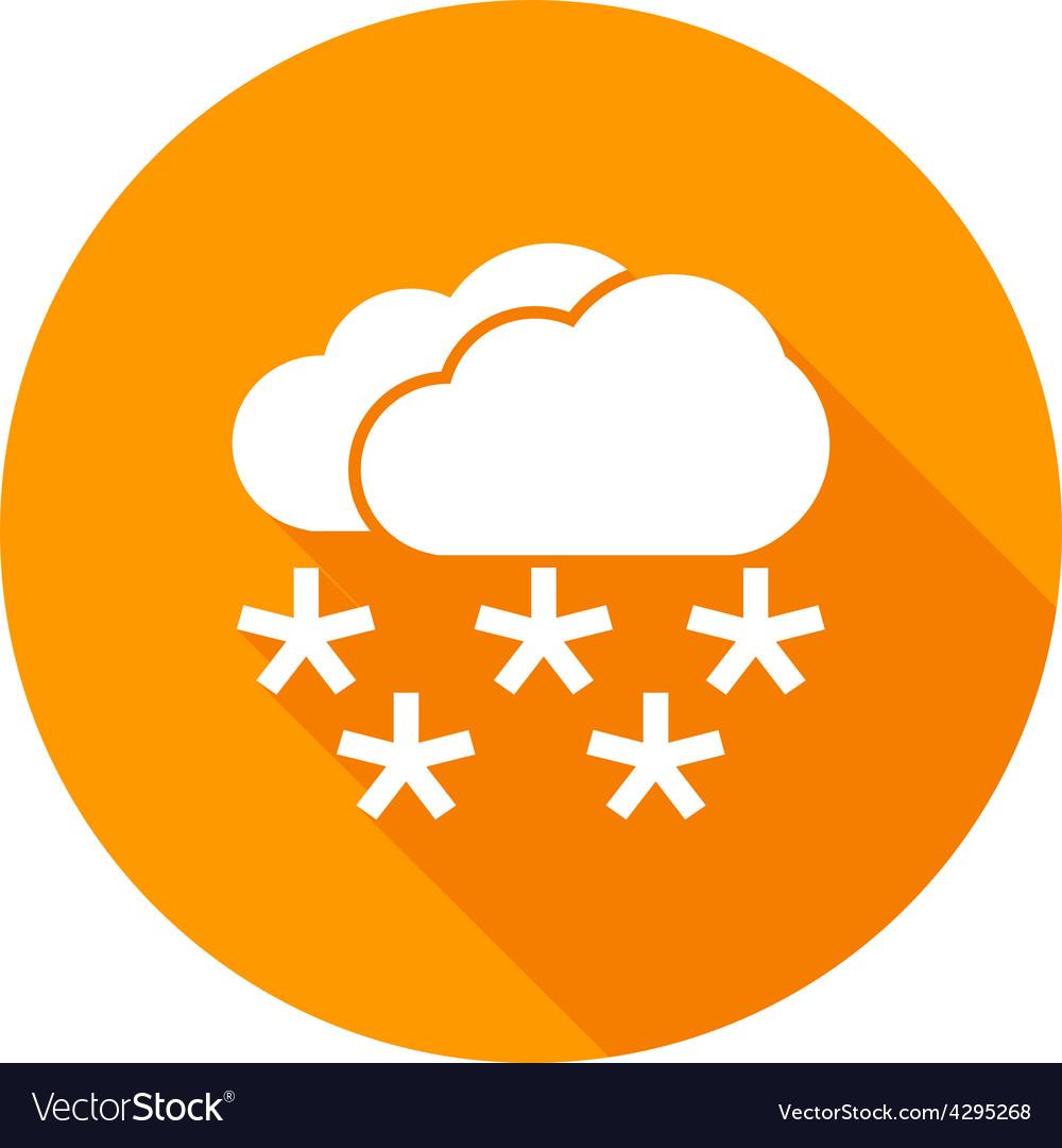 Heavy snowing vector | Price: 1 Credit (USD $1)