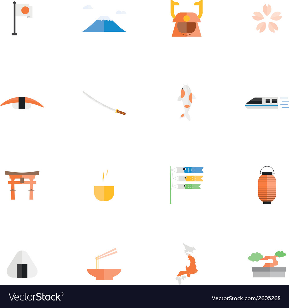 Icon japan vector | Price: 1 Credit (USD $1)