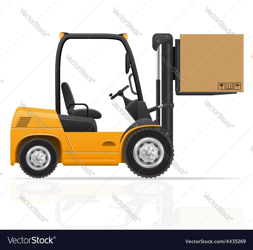Forklift truck 02 vector   Price: 1 Credit (USD $1)