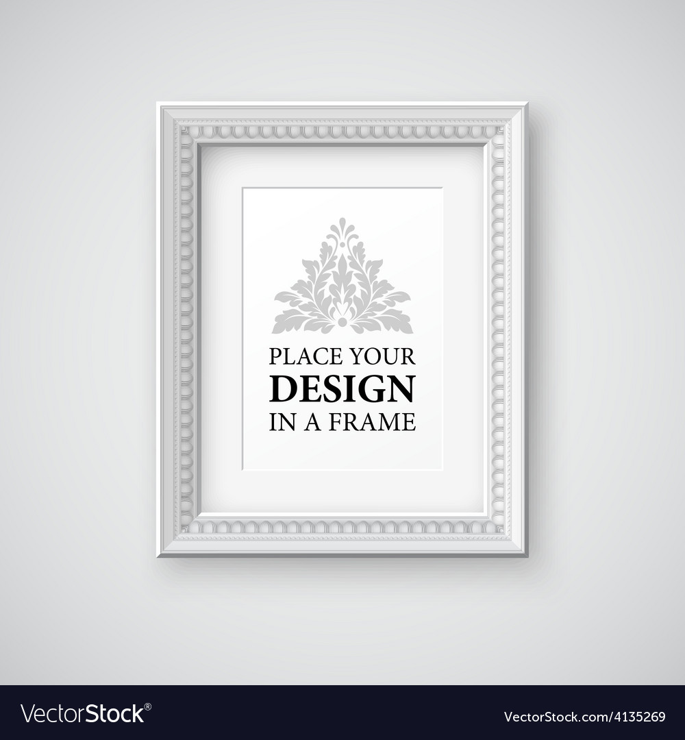 Frame template vector | Price: 1 Credit (USD $1)