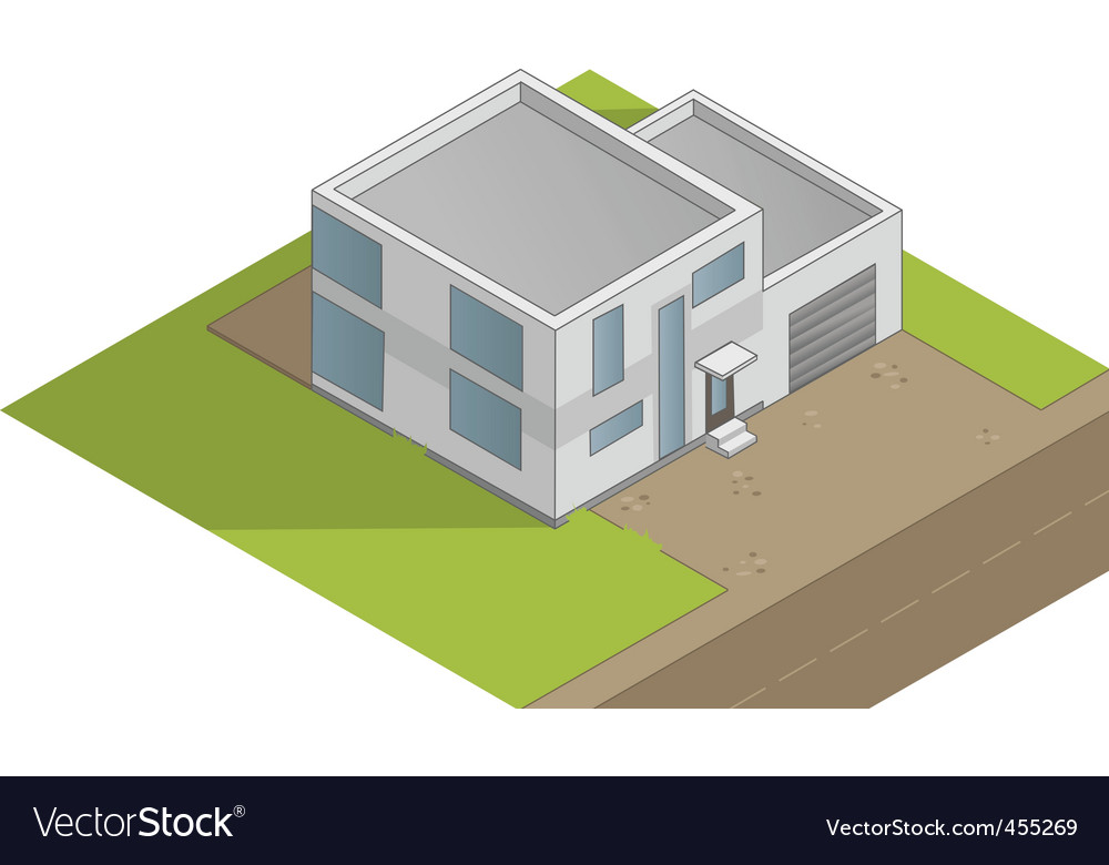 House illustration vector | Price: 1 Credit (USD $1)