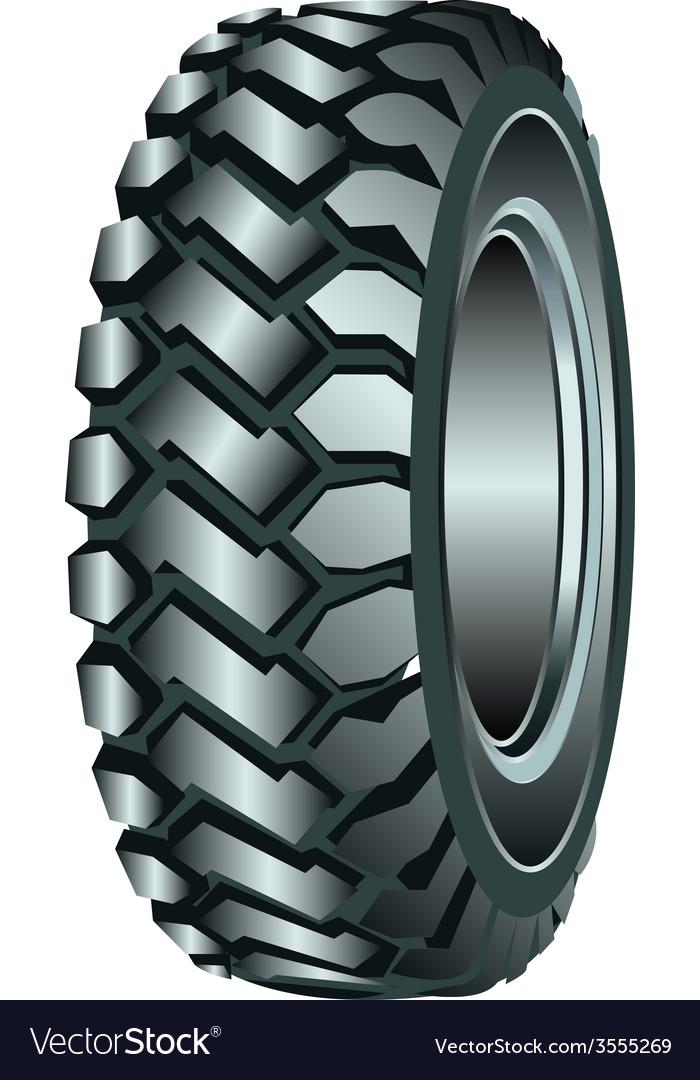 Rubber tire vector   Price: 1 Credit (USD $1)