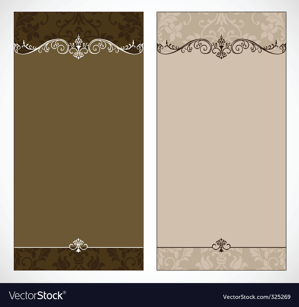 Vintage brochure vector | Price: 1 Credit (USD $1)