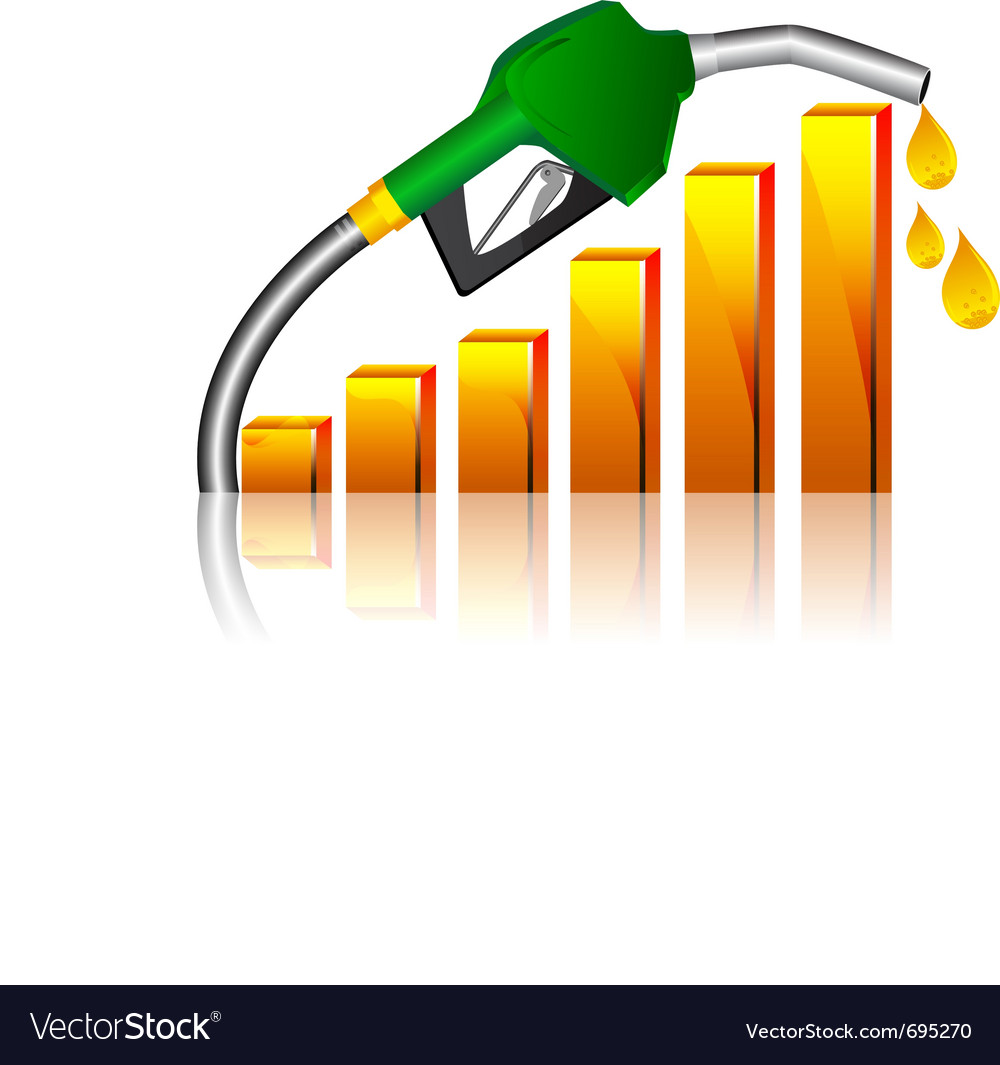 Fuel price vector | Price: 1 Credit (USD $1)