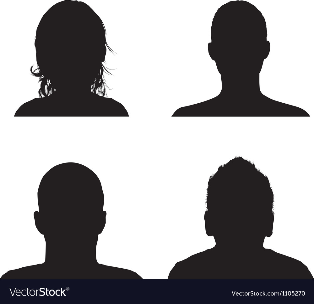 Profile vector | Price: 1 Credit (USD $1)