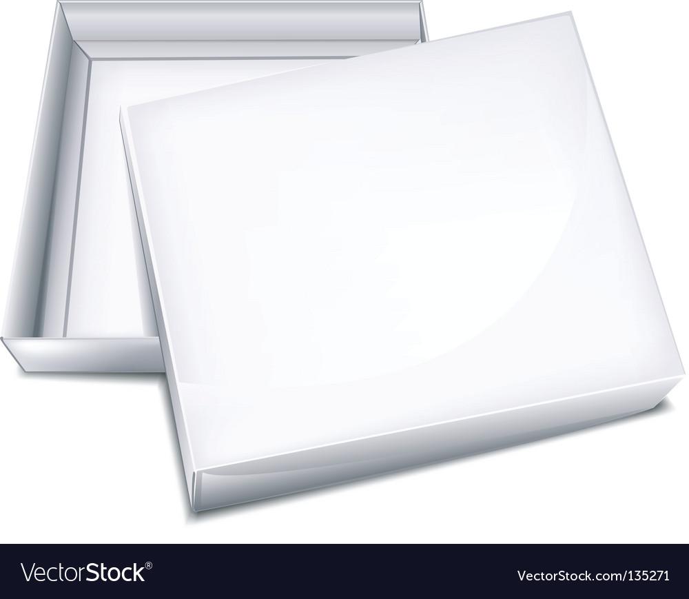 Open box vector | Price: 1 Credit (USD $1)