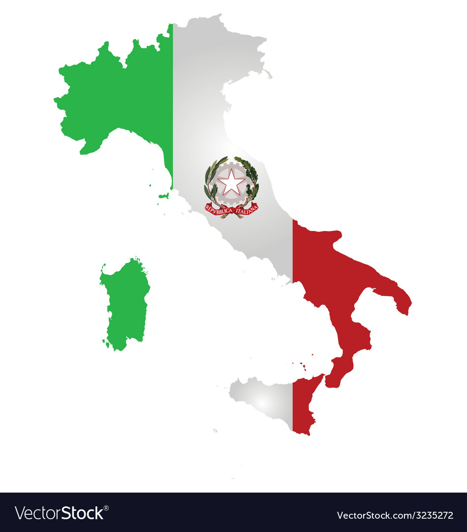 Italy flag vector | Price: 1 Credit (USD $1)