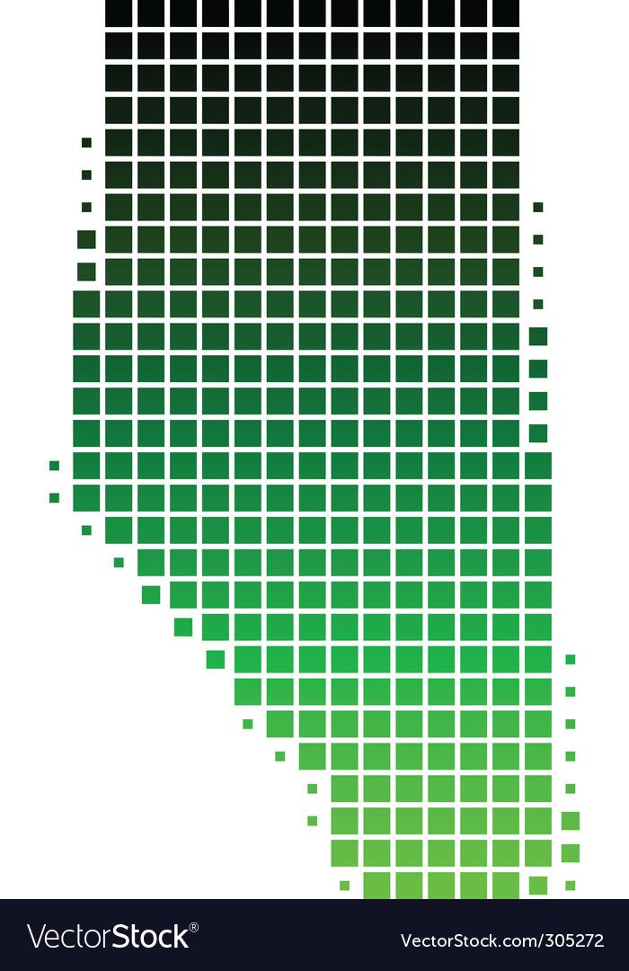 Map of alberta vector | Price: 1 Credit (USD $1)