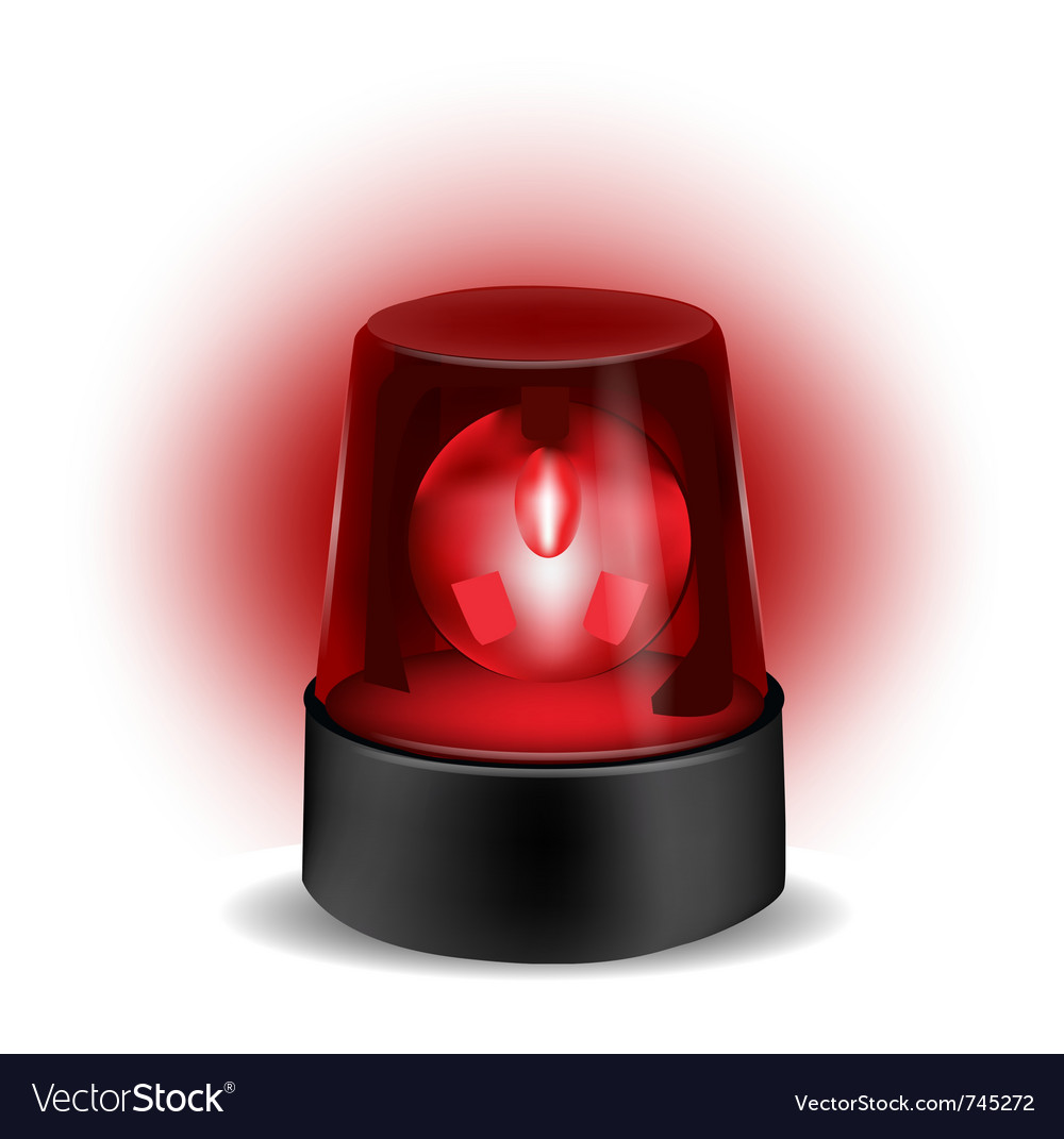 Red flashlight vector | Price: 1 Credit (USD $1)
