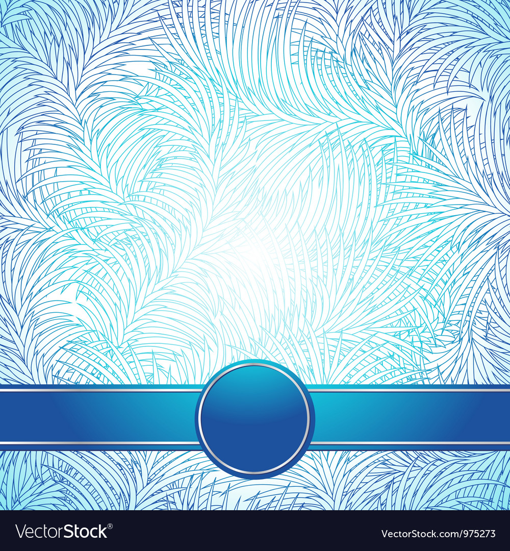 Background like a frost abstract winter texture vector | Price: 1 Credit (USD $1)