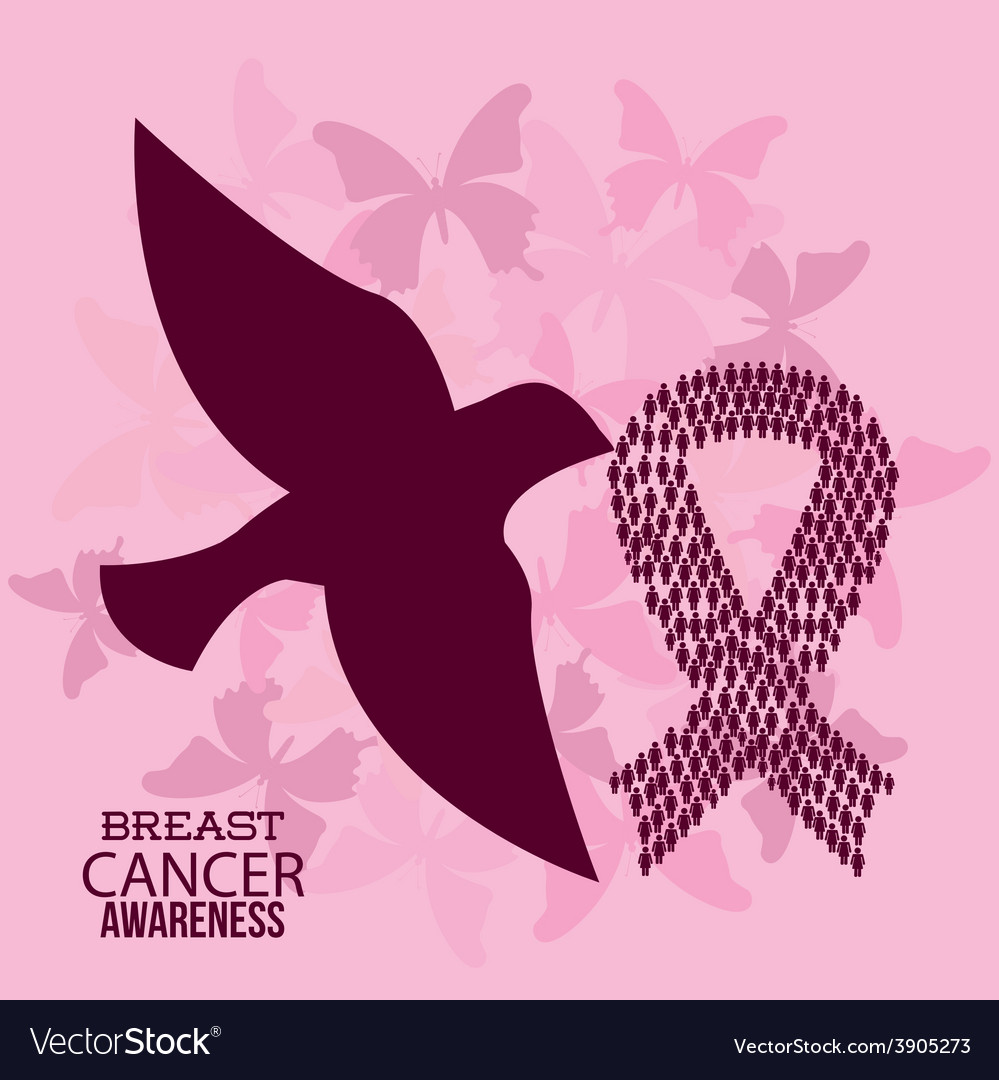 Breast cancer design vector | Price: 3 Credit (USD $3)