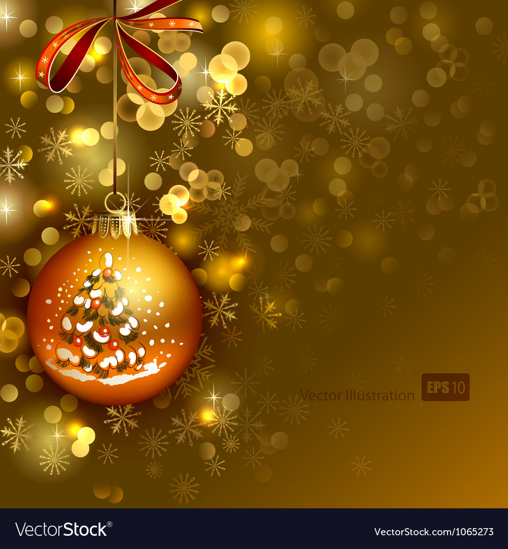 Bright christmas background vector | Price: 3 Credit (USD $3)