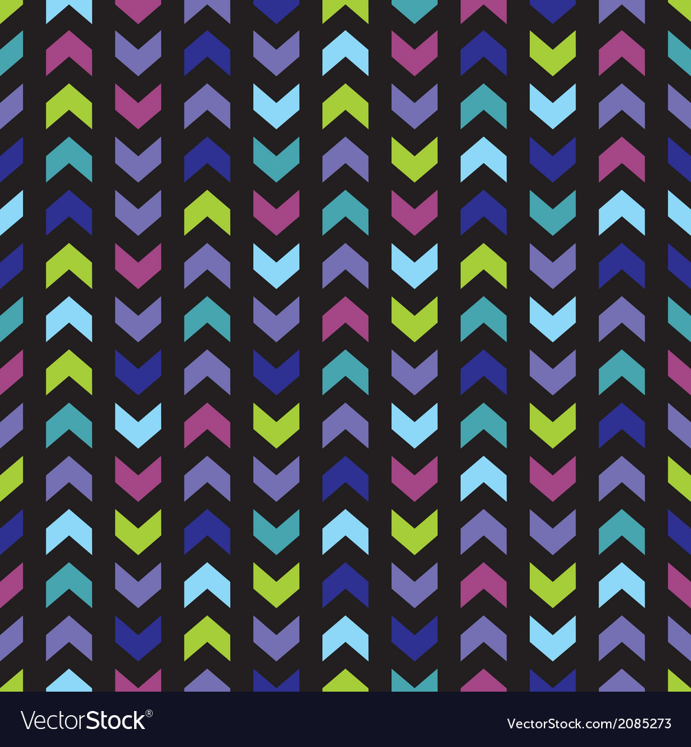 Seamless wrapping wallpaper zig zag print vector | Price: 1 Credit (USD $1)