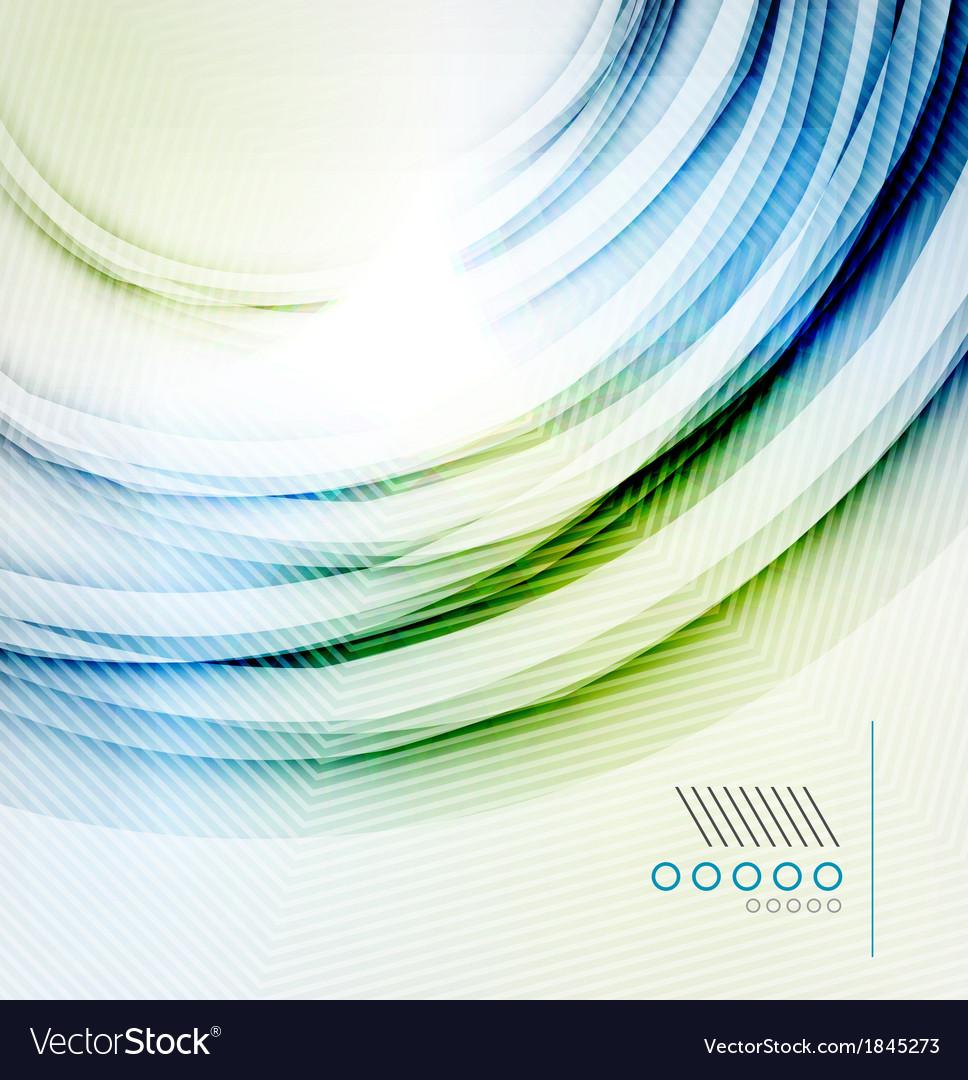 Textured elegant smooth swirl vector | Price: 1 Credit (USD $1)