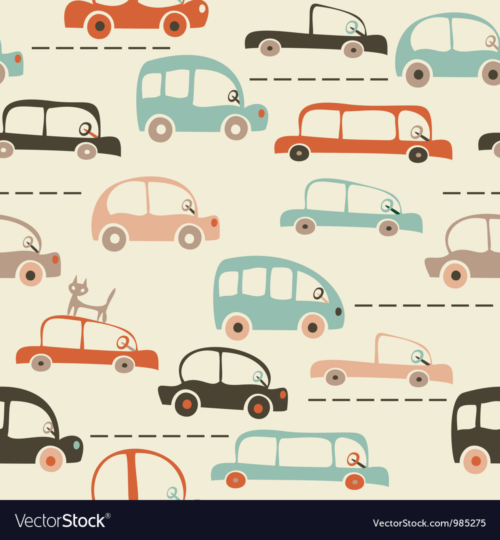 Transport vintage background vector | Price: 1 Credit (USD $1)